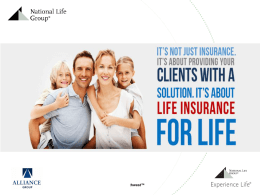 critical Illness - Life Insurance With Living Benefits