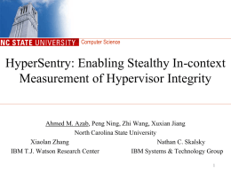 HyperSentry: Enabling Stealthy In-context Measurement