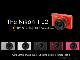 The Nikon 1 J2 - Christine Spitler
