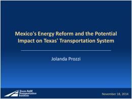 Impact of Mexico Energy Reform_Final