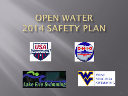 OW Safety Plan 2014... - Ohio Open Water Championships