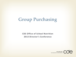 Group Purchasing