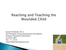 Laramie I-The Wounded Child - The Pinnacles Group Education