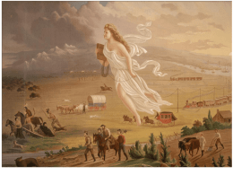 PowerPoint with notes for Manifest Destiny