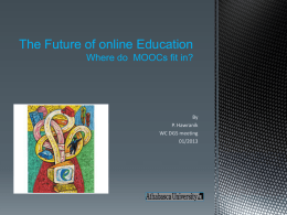 The Future of online Education 2013 PH