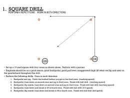1. Square Footwork Drill