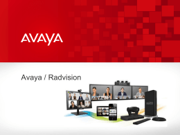 Avaya Video & Collaboration