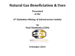 Paul Chimbodza Oil and gas Beneficiation