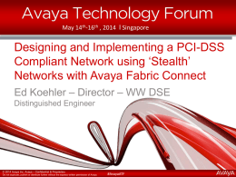 Stealth PCI Networking Presentation