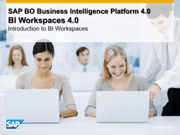 What`s New in BI Workspaces 4.0
