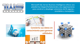 Cuadrante Gartner Business Intelligence