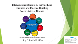 IR Service Line Business and Practice Building