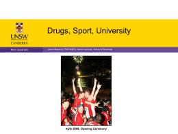 Main Differences - Australian University Sport