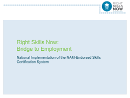 Right Skills Now webinar 3 28 12