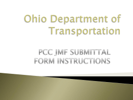 JMF-Form-Instructions - Ohio Department of Transportation