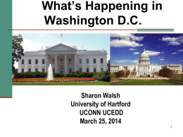 Presentation Slides - University of Hartford