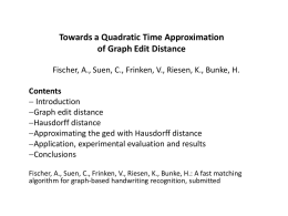 Towards a Quadratic Time Approximation of Graph - DAMA-UPC