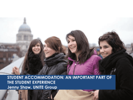 expectations of student accommodation