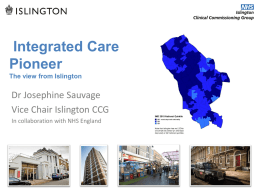 integrated care - Health Education England