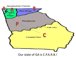 GA`s Geography Powerpoint