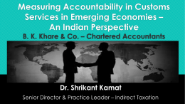 Inculcating Professional Competencies in Indirect Tax Officers