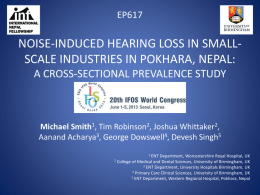 noise-induced hearing loss in small-scale industries