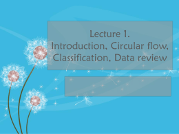 01-Introduction, Circular Flow, Classification, Data - OIC