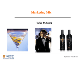 Vodka Analysis Class Slides