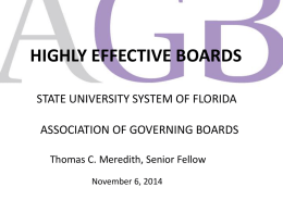 AGBFLTrustees - State University System of Florida