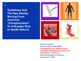 Slides - The New York Academy of Medicine