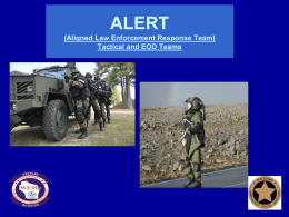 WI ALERT Teams and TEMS PowerPoint