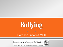 What is bullying? - The American Legion
