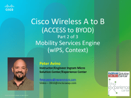 Cisco Wireless A to B part2 - Ingram Micro Solution Center Portal