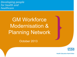 Greater Manchester Network Presentation 17.10.13