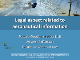 Aeronautical information management