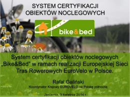 Bike & Bed – R. Galiński