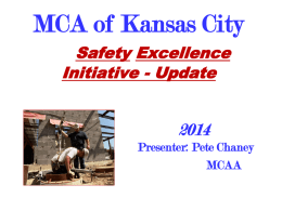 MCAA-Safety-Update - Mechanical Contractors Association of
