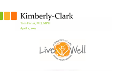 Worksite Health Case Study: Large Employer (Kimberly