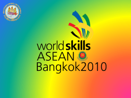 asean skills competition