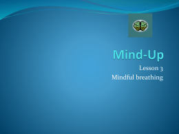 Mind-Up Lesson 3 - Pacoima Charter School
