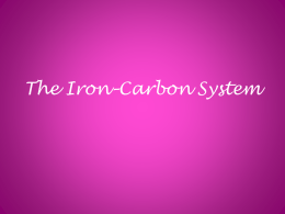 The Iron*Carbon System