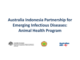 Australia Indonesia Partnership for Emerging Infectious