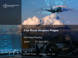 Free Route Airspace Prague