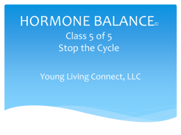 THE HORMONE BALANCING PROGRAM