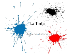 La Tinta - Blogs de la ENAP