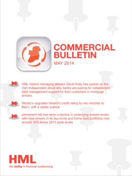 our Ireland Commercial Bulletin May 2014
