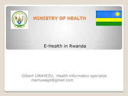 Ministry of Health E-Health