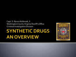 synthetic cannabinoids - Virginia Department of Health