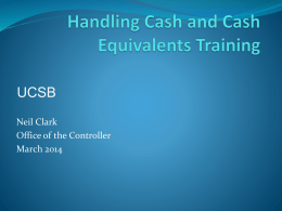 Cash Handling Training - Business & Financial Services