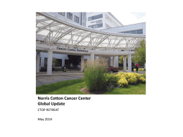 Clinical Cancer Committee - Norris Cotton Cancer Center